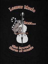 """Lemur Music - Bass"" T-Shirt – Great Music item (L)"