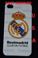 FOR IPHONE 4 4S CASE REAL MADRID REALMADRID FOOTBALL CLUB HARD +