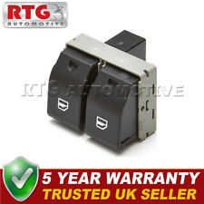 Double Electric Window Switch Button Front Right Fits Seat Ibiza Cordoba VW Polo