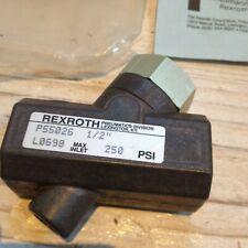 Rexroth Dryseal Nptf Kariert Ventil P055026 R431003557 1.3cm Ports 250psi Beutel