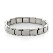 Starter Italian Charm 18 Link Bracelet 17.5 Cm (Plain)