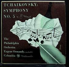ORMANDY tchaikovsky symphony no 5 LP VG ML 4400 USA 1951 Alex Steinweiss Art