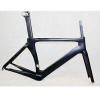 Clear Stock  Carbon Fiber T800 UD Road Bike Frame bicycle frame BBright 56cm