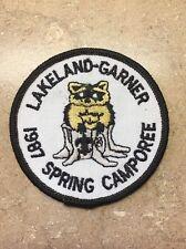 LAKELAND-GARNER 1987 SPRING CAMPOREE BSA PATCH