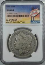 1903-S Morgan Dollar NGC Genuine Las Vegas Vault Collection Home of Binion