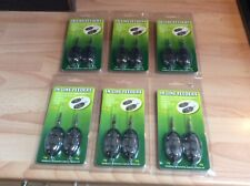 Inline Method Feeders X 12 Carp Course Fishing New Unused