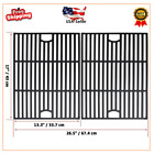 """17"""" Cast Iron Cooking Grate Replacement for Nexgrill 4 Burner , Kenmore ,Unifla"""