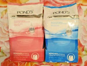 Pond's Moisture Clean Makeup Removing Towelettes Original Fresh/Luminous Clean