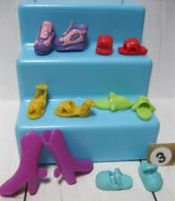 6 pair Polly Pocket Soft Boots/Shoes-fit Littlest Pet Shop Blythe Doll - Lot #3