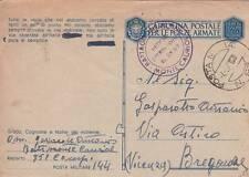 6392) WW2 BOLLO DEL BATTAGLIONE MONTE CAURIOL SU FRANCHIGIA.
