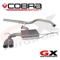 VW07 Cobra sport VW Golf Mk5 1K 1.9 TDI 03-08 CatBack *GTI bumper maybe required