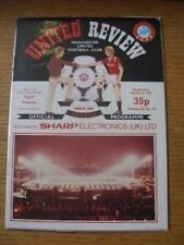 06/03/1985 Manchester United v Videoton [UEFA Cup] . No obvious faults, unless d