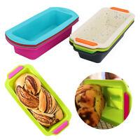 Silicone Baking Bread Toast Mold Cake Tray Rectangular Cake Mould Baking Pans