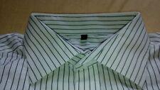 TA7035 ETERNA Blackline Excellent Hemd 43 Weiß Schwarz Gestreift Sehr gut