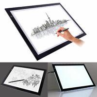"""19""""/13"""" Led Tracing Light Box Drawing Tattoo Board Pad Table Stencil Art Design"""