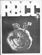 1970 comics fanzine ROCKET'S BLAST COMICOLLECTOR #74 - RBCC - Richard Corben