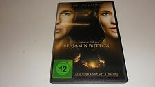 DVD  Der seltsame Fall des Benjamin Button In der Hauptrolle Brad Pitt
