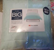 Mint Green Reversible Down Alternative Comfortor by The Big One, Full/Queen, NIB