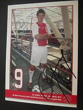 16953 Jan Huntelaar Holland WM Ajax Amsterdam original signierte Autogrammkarte