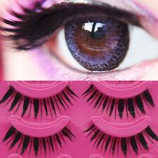 5 Pairs Falso Pestañas Cross Handmade Lashes Makeup Extension False Eyelashes