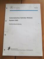 Mercedes Service -Getriebe W5A 030 - W 140 / 129 -Funktionsbeschreibung