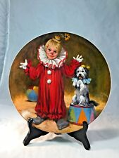 Bradford Exchange Tommy the Clown plate