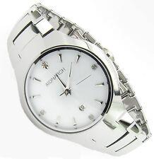 Luxus Tungsten Wolfram Herren Armband Uhr Datum Zirkonia Diamant Cl Wht Germany
