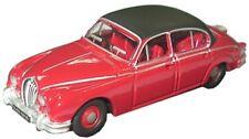 Oxford 76JAG2001 Jaguar MKII Regency Red Morse 1/76 Scale 00 Gauge T48 Post