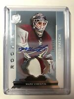 2014-15 Upper Deck The Cup /249 Mark Visentin #117 RPA Rookie Patch Auto