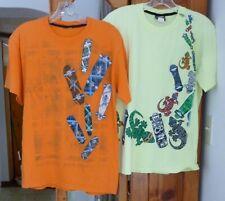 Gecko Hawaii Skateboard T-Shirt Colorful Skateboards Choose Orange Or Lime Y Xl