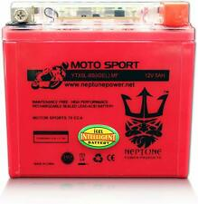 YTX5L-BS GEL Replacement for Polaris Outlaw Scrmblr ATV Battery By Neptune