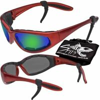 Hercules Safety Glasses Red Frame Various Lens Options