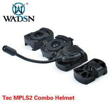 WADSN TEC MPLS HELMET LIGHT TACTICAL White LED LAMP WITH 4 MOUNTS
