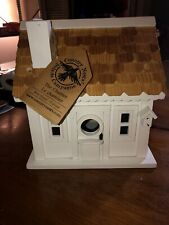 Handmade Wood Birdhouse, Decorative & Charming