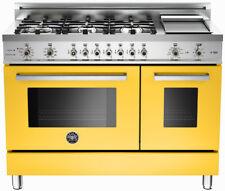 "Bertazzoni Professional Series 48"" Gas Range Pro486Gdfsgi Yellow Natural or Lp"