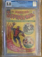 Amazing Spider-man 8 CGC 5.0