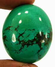 55.70 Ct Natural Tibet Turquoise Loose Gemstone Cabochon Wire Wrap Stone - 19943