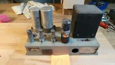 Dynatron lf44a el90 della valvola VINTAGE AMP, telaio originale verde pallido