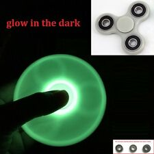 Glow in Dark Fidget Hand Spinner for Fun, Anti-Stress, Focus, ADHD & Anxiety