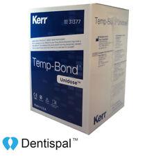 Kerr TempBond Regular Unidose Packets Zinc Oxide Eugenol Temporary Cement