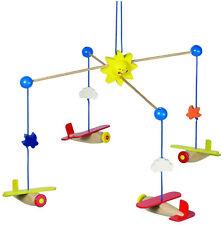 HEIMESS aeroplani mobile in legno Baby Bambino Vivaio Camera da letto giocattolo nuovo con confezione