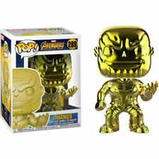 Avengers 3: Infinity War - Thanos Yellow Chrome Funko Pop Vinyl