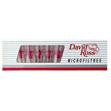 3x Boite de 10 Micro Filtre à cigarette DAVID ROSS