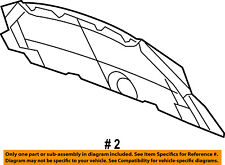CHRYSLER OEM Hood-Insulation Pad Liner Heat Shield 5020642AC