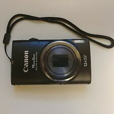 Canon PowerShot ELPH 340 HS 12x Optical Zoom 16.0 MP Digital Camera, Untested