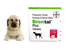 Dewormer for Dog Allworms Round and Tap Worm 8-16 Tabs Exp 04/2022