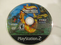 Hot Wheels Stunt Track Challenge Ps2  Game Disc Only Very Good  Condtion