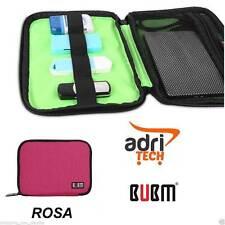 Bubm Dis-xs Organizer Custodia Hard Disk Grigio cavi PC Pendrive USB