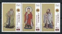 Macau Macao 2017 MNH Traditional Chinese Culture 3v Strip Cultures Stamps