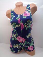 Women's Lily White Romper In Multi-Colored Size XS